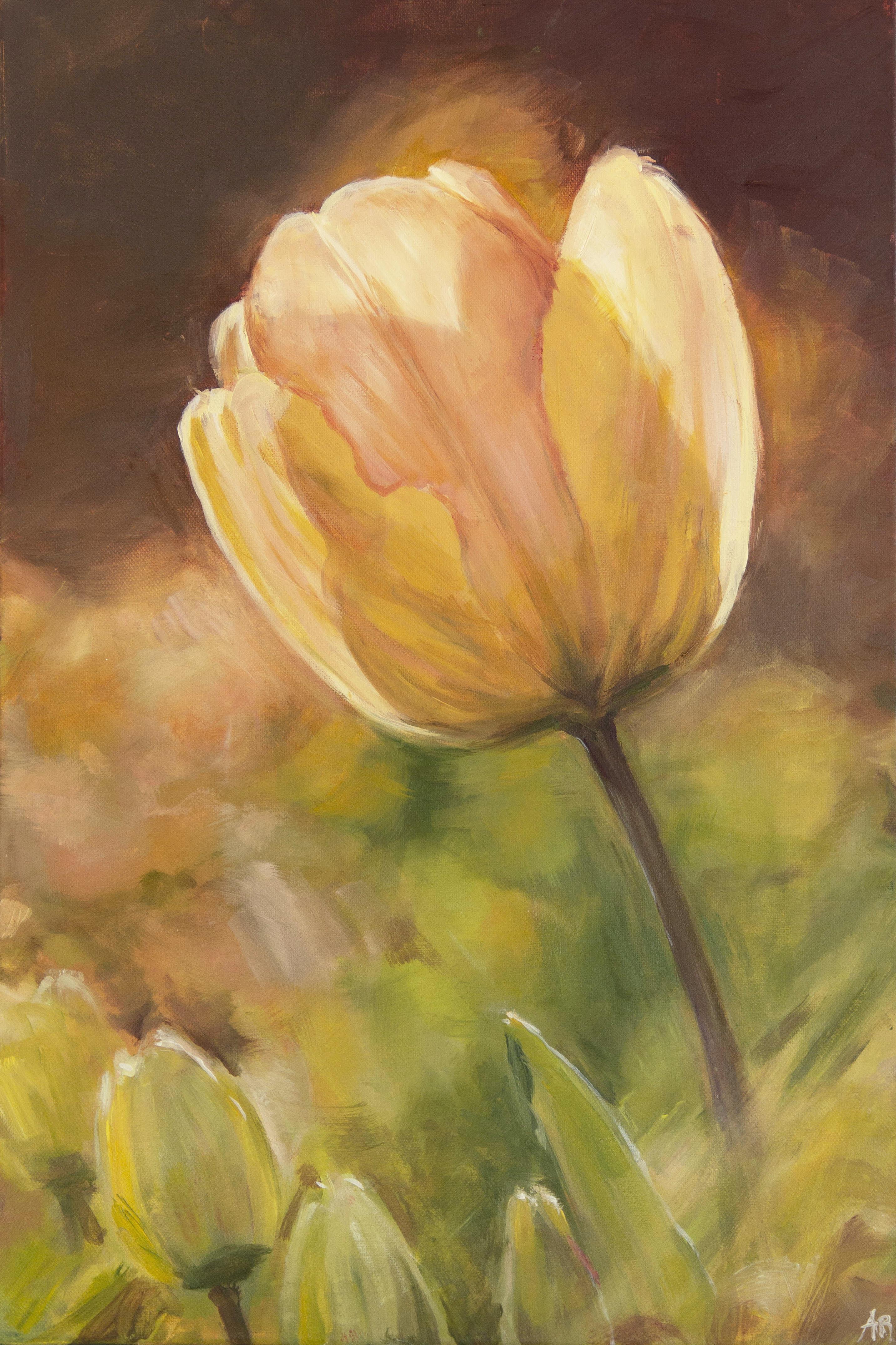 anna ramseier, yellow tulip