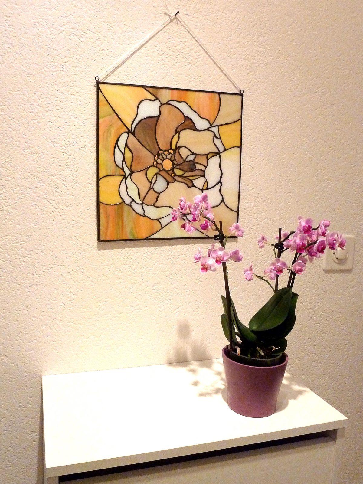 Wandbild Rose